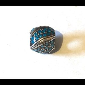 🆕Listing! Brighton bead with turquoise crystals